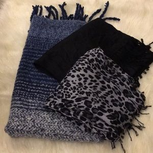 Lot of Three Scarves